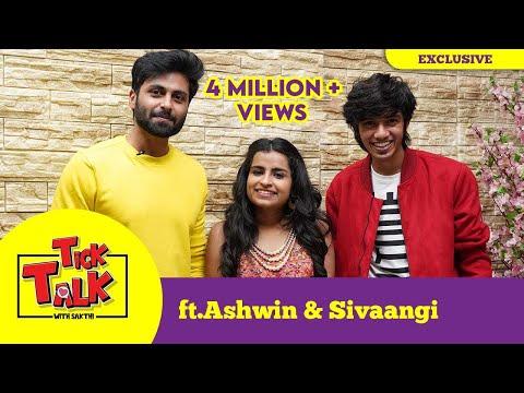 """Ashaangi Ashwin & Sivaangi Fun Interview in """"Tick Talk with Sakthi"""""""