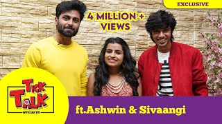 "#Ashaangi Ashwin & Sivaangi Fun Interview in ""Tick Talk with Sakthi"" 