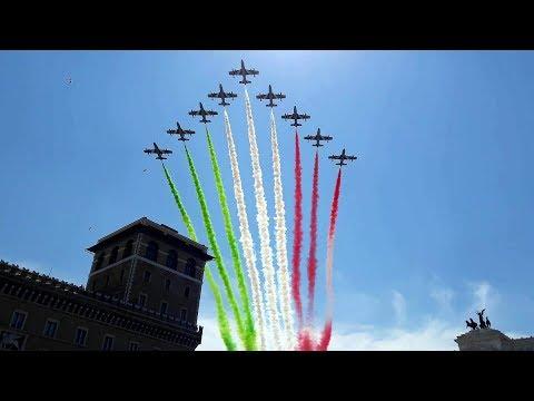 Festa della Repubblica Italiana. La Parata militare del 2 giugno 2017 a Roma