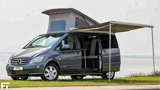 6 Great Camper Vans and CLASS B Motorhomes with BATHROOMS !