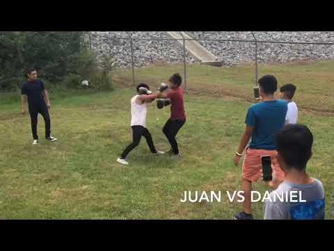Albertville High School students boxing ( Gloves up Guns down????) (**Friendly Boxing Match**)