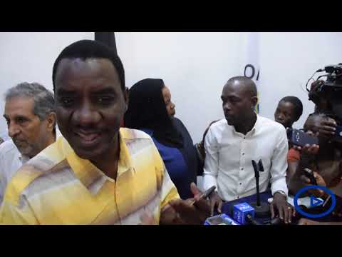 Chaos erupts in Mombasa County offices between CEC's, Journalists and the business community
