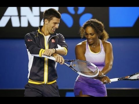 Novak Djokovic Hilarious Moments Ii Youtube