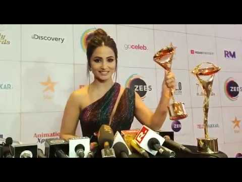 Congratulations! Hina Khan Talks About Getting Award As Best Antagonist