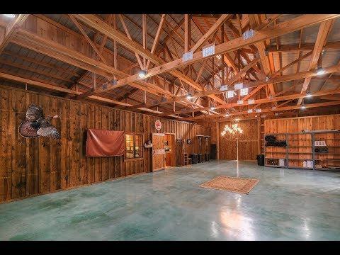 Barn with Living Quarters - Post Frame