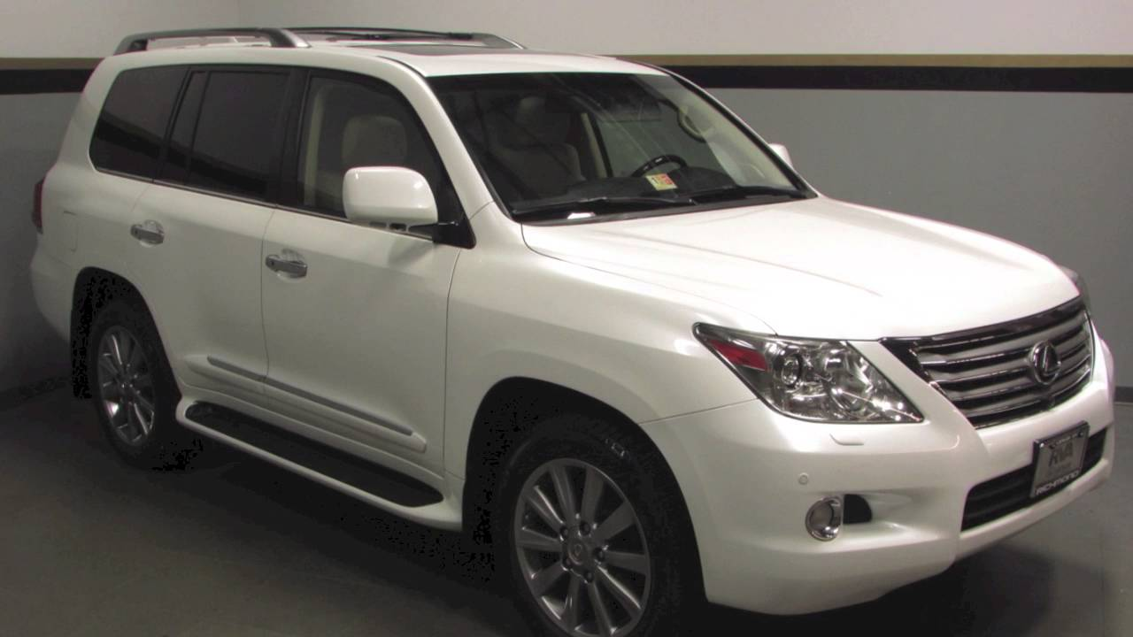 Delightful 2011 Lexus LX 570 Luxury Package In Richmond, VA 15P490