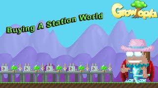 Growtopia - Buying A Station World!
