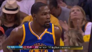 2017 Golden State Warriors vs Cleveland Cavaliers Game 4