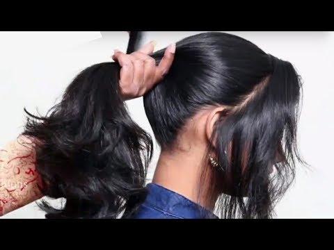 Easy Hairstyles for Beginners (School, College, Work) | Quick & Heatless Hairstyles 2018