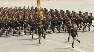 I put some Bee Gees over some North Korean marching BUT it gets faster every cycle