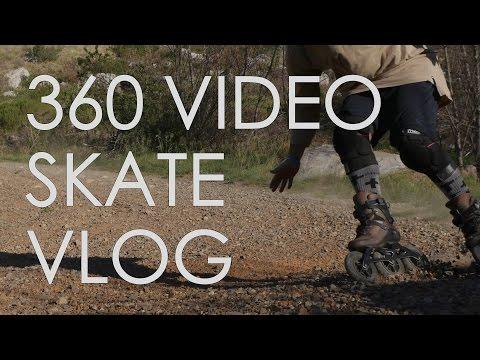 360 VIDEO//3 DIFFERENT SKATES IN 1 DAY // INLINE SKATES , ROLLER SKATES & OFF ROAD SKATES // VLOG 84