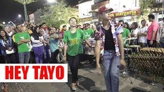 LAGU INI PALING BANYAK DIREQUEST -- HEY TAYO -- ANGKLUNG RAJAWALI MALIOBORO YOGYA