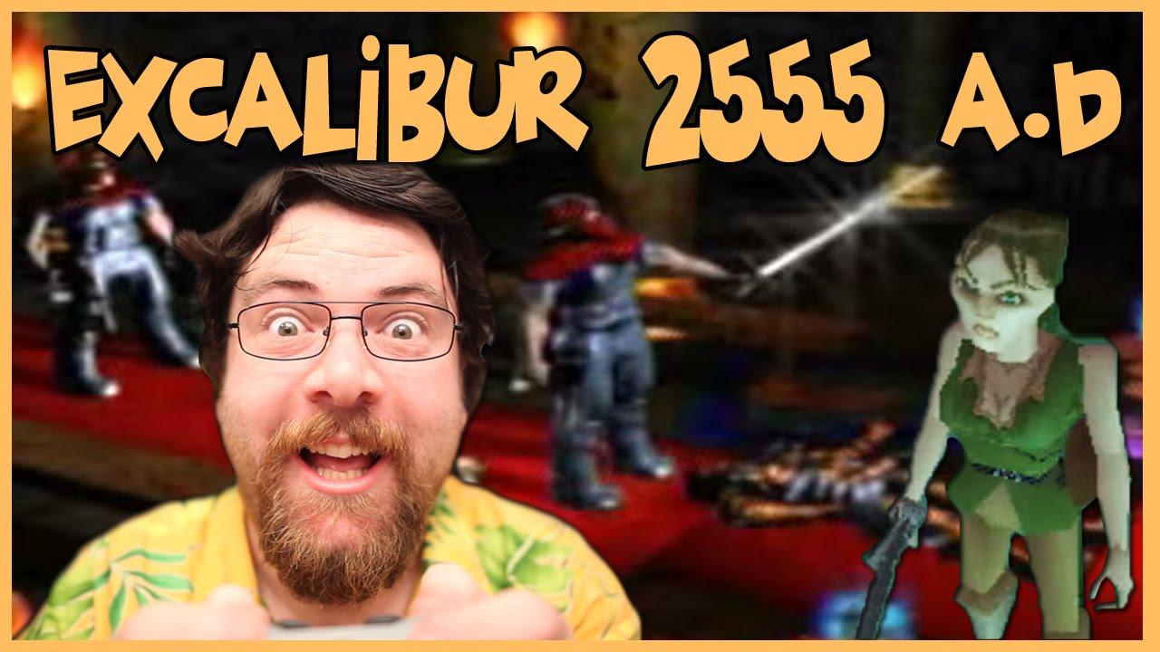 Joueur du Grenier – Excalibur 2555 A.D – Playstation