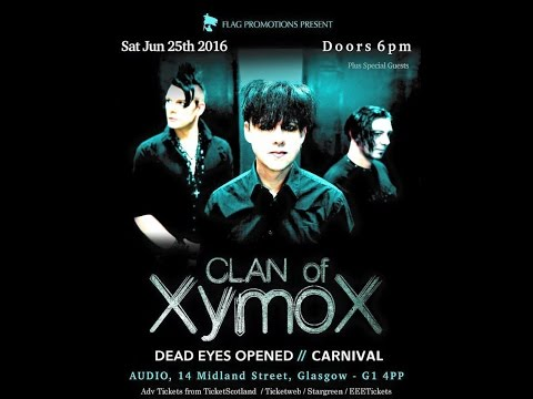 Clan of Xymox (NL) - Live at Audio, Glasgow 25th June 2016 FULL SHOW HD