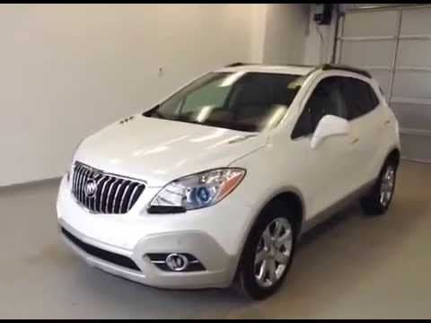 buick encore 2014 pearl white. brand new 2013 buick encore all wheel drive diamond white saddle and cocoa interior youtube 2014 pearl i