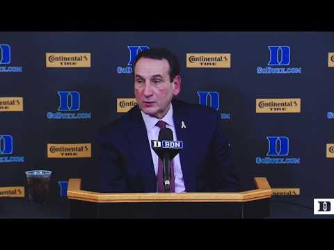 Coach K Reaction: Duke 78, Southern 61 (11/17/17)