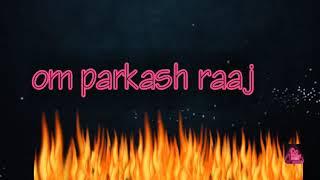 Logo 3d om parkash raaz