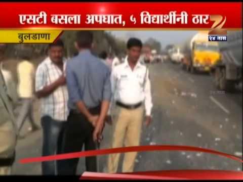 Buldhana St Bus Accident