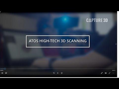 ATOS 3D Scanner Demo