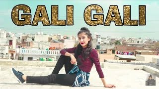Gali Gali Me firta Hai Tu Kyun Banke Ba Banjara  Song KGF| Dance Video | Neha Kakkar | Choreography1