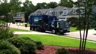 Suburban Garbage Truck ( Part 1)