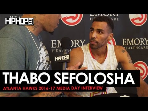 Thabo Sefolosha Talks Starting the 2016-17 Healthy, Protesting National Anthem, & More with HHS1987