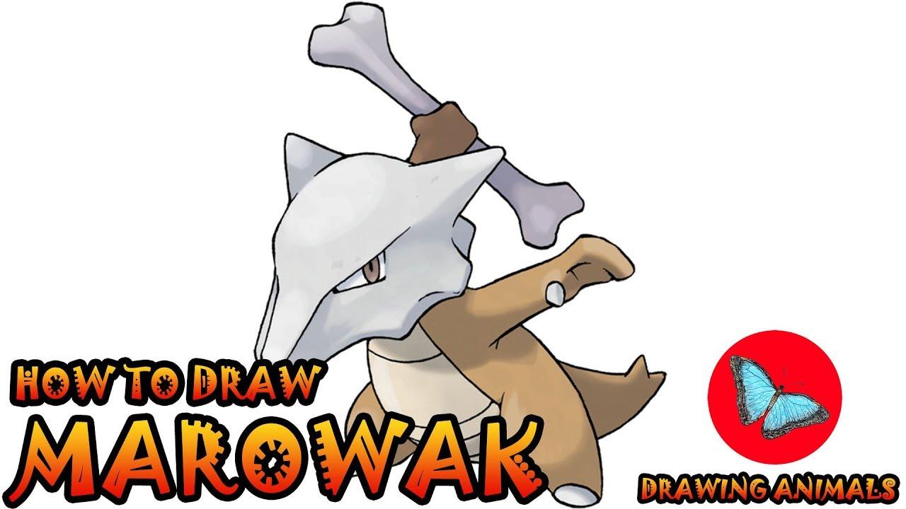 How To Draw Marowak Pokemon