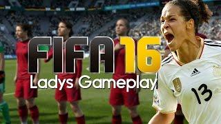 Fifa 16 frauen gameplay - deutschland vs. usa - frauen fussball fifa 16   let's play fifa 16