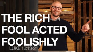 THE RICH FOOL ACTED FOOLISHLY | Sunday Service 2.14.21 ONLINE | HBC