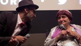 Agnès Varda and JR   'Faces Places' Q&A   NYFF55