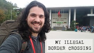 Crossing the Chinese Border into Vietnam
