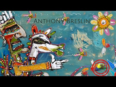 Fine art tips on How to Paint Abstracts with Anthony Breslin on Colour In Your Life