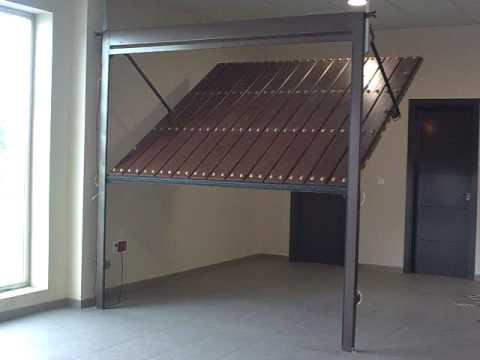 Puerta automatica basculante no desbordante puertas - Puertas para garage ...