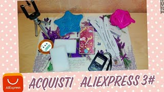 Unboxing ALIEXPRESS #3  - VIDEO HAUL