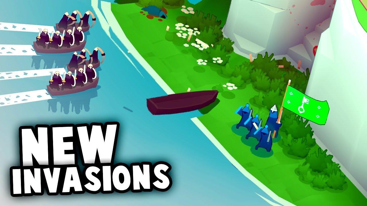 NEW VIKING INVASIONS! (Bad North Gameplay Part 1)