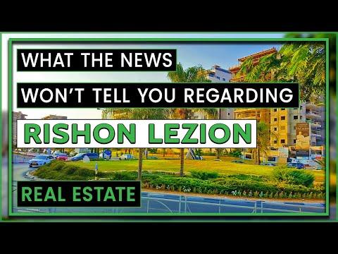Discover Rishon LeZion Real Estate | Where And Why To Invest In Rishon LeZion?