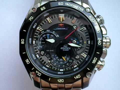 8e59d48fd318 Casio Edifice Red Bull Racing Watch EF-550RBSP-1AV - YouTube