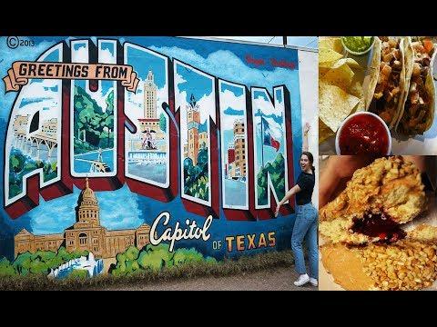 THE BEST FOOD IN AUSTIN TEXAS // Vegan Donuts // Vlog
