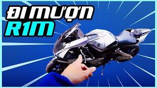GIA HUY VLOG - Đi mượn siêu mô tô Yamaha R1M để làm clip review