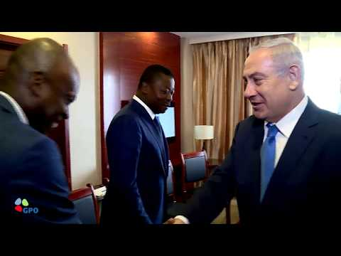 PM Netanyahu Meets President of Togo