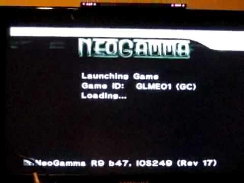 Wii Gamecube Backup Error