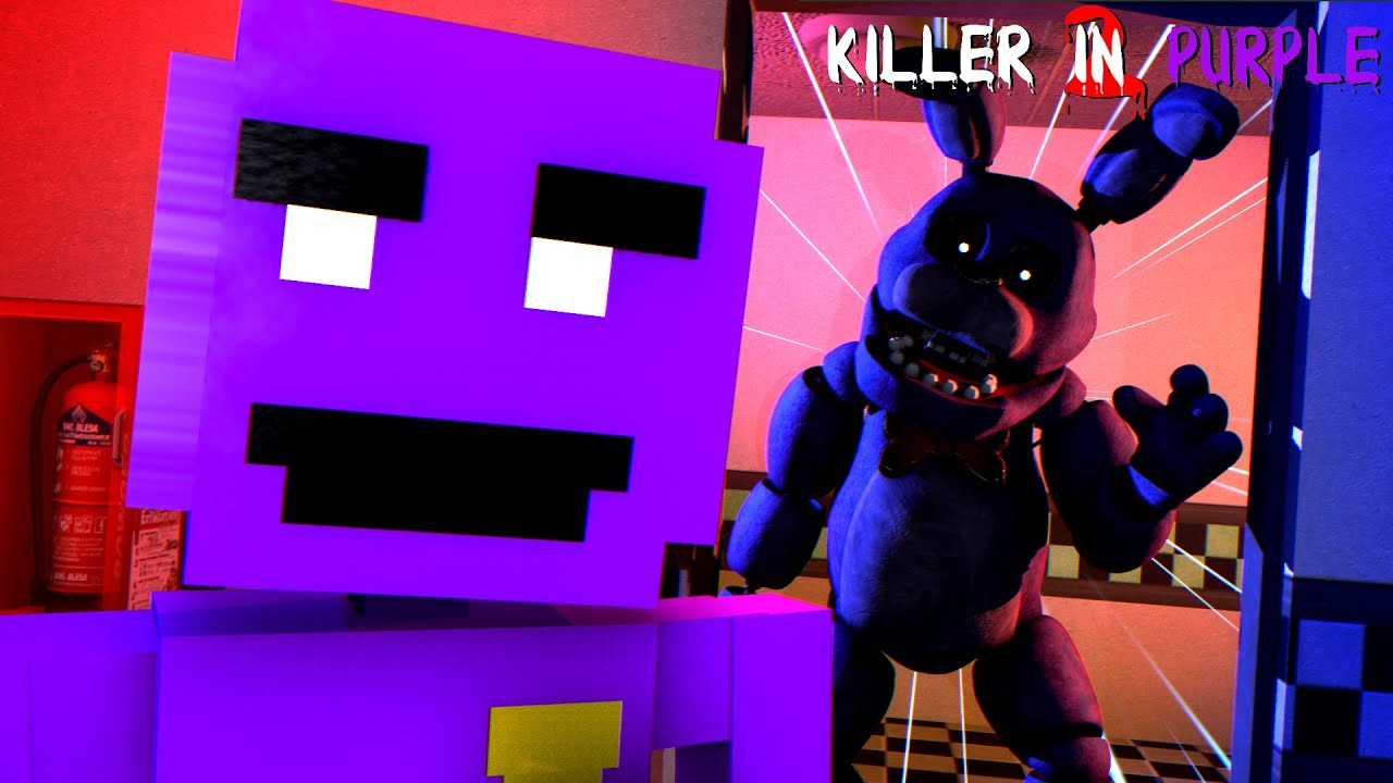 FNAF: Killer in Purple 2 | Bonnie Attacks Me In The Middle Of The Night! [Part 5]