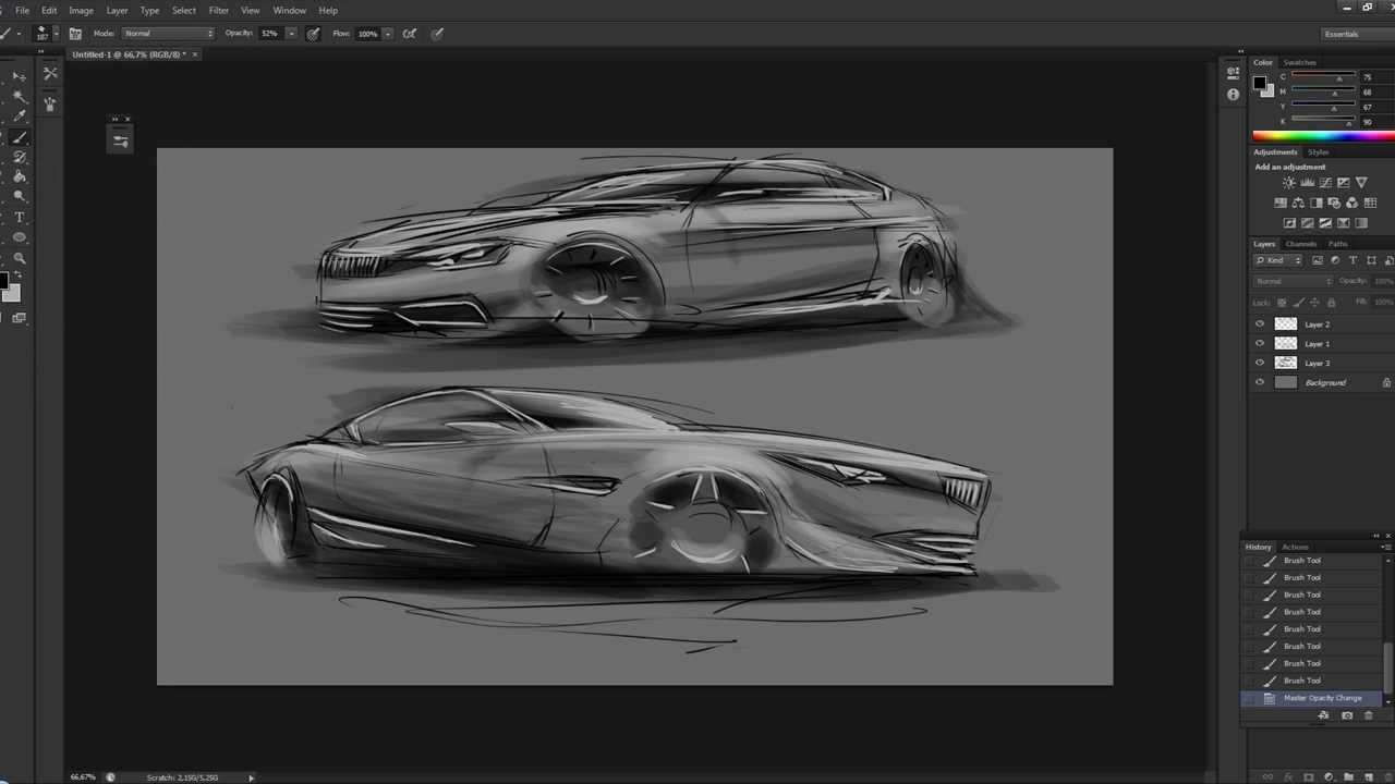 Car sketch - Week 35
