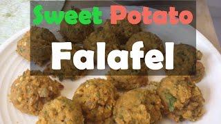 Sweet Potato Falafel -- Simple Vegan Recipes, Part 1 With Jovanka Ciares