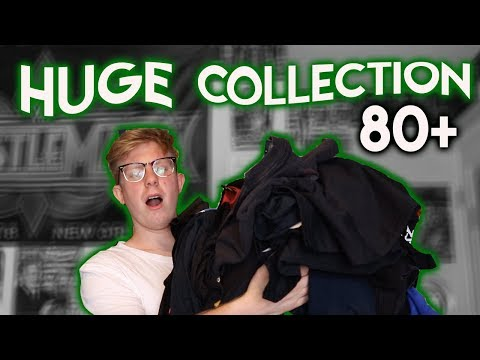 BIGGEST WWE T-SHIRT COLLECTION ON YOUTUBE