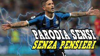 PARODIA STEFANO SENSI ⚽ Parodia Fabio Rovazzi (feat. Loredana Bertè & J-Ax)  - Senza Pensieri |