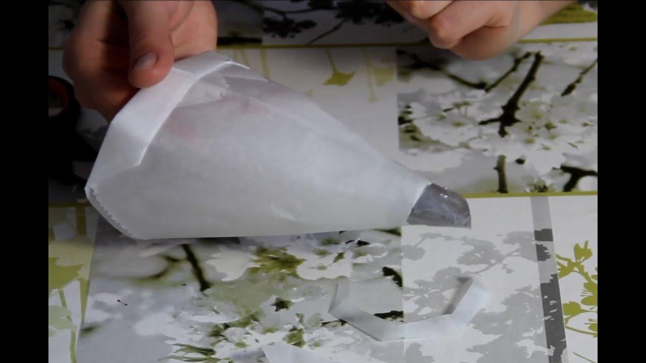 Как сделать для крема кондитерский мешок фото 744