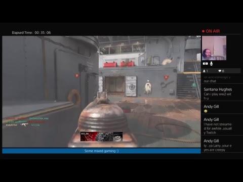 AndyArrtist's Live PS4 Broadcast