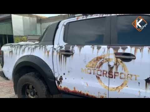 Ford Ranger rust style full wraps | TinKwraps | Tem xe Ranger