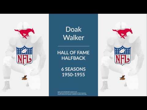 Doak Walker: Hall of Fame Football Halfback,  Kicker, and Punter